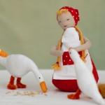 רועת האווזים