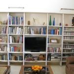 מדפי קיר ספרייה