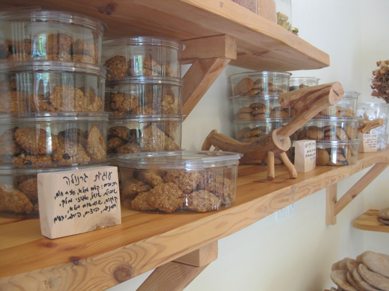 עוגיות גרנולה בחנות